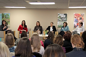 Women in Business Conference alumni panel