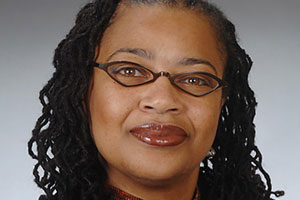 Marketing Professor Sonya Grier.