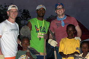 Randy Smith (third from right) in Haiti in March.