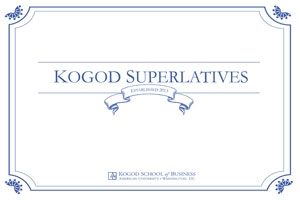 Kogod Superlatives