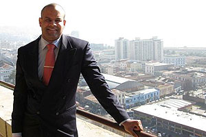 Averell Sutton, JD/MBA '13, has spent time in the Dominican Republic, Peru, Argentina, Chile, and now Brazil.