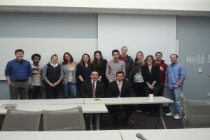 Picture of the Kurdish Studies Class