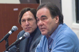Peter Kuznick and Oliver Stone by Jeff Watts