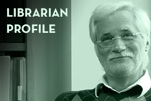 Librarian Profile: Martin Shapiro