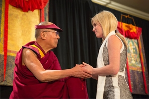 Dix Lyons and the Dalai Lama