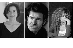 Series authors Joan Wickersham, Andre Dubus III, and Marie Howe