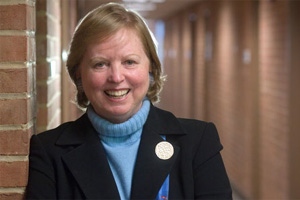 Dotty Lynch, executive in residence, School of Communication