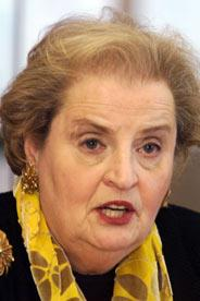Madeleine Albright 2001, Gannett, H. Darr Beiser, USA Today