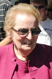 Madeleine Alright 2010, Copyright Gannett