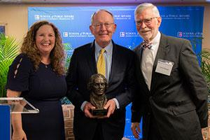 SPA Dean Vicky Wilkins, Senator Lamar Alexander and former Rep. David Skaggs.