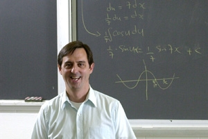 Math Department Prof. Nolan wins 3-year grant