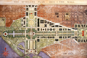 The McMillan Plan reinforced L'Enfant's Mall as a formal ceremonial and commemorative space.