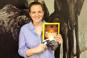 SOC Dean's Intern Emily Good gained invaluable life experience while working at National Geographic.