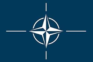North Atlantic Treaty Organization (NATO) flag