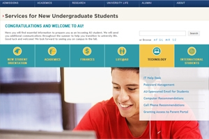 OIT New Undergraduate Student Services Directory