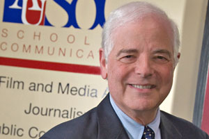 SOC's Distinguished Journalist in Residence Nick Clooney