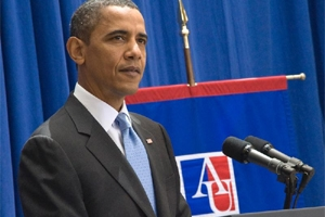 In his speech at AU, President Obama will focus on the recent nuclear agreement with Iran.