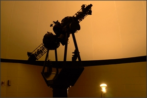 AU team restores planetarium