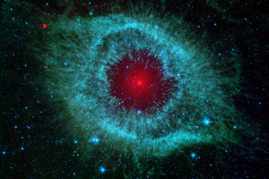NASA image of the Helix Nebula.