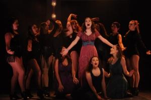 Students perform in Pippin