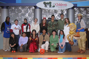 Premedical Students at Childrens Hospital