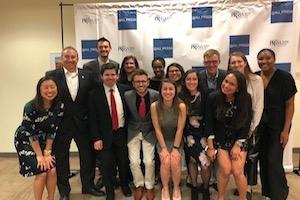 PRSSA winners and eboard 2018