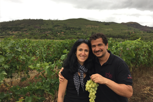 Roig and his wife at their winery.