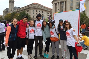Public Health Scholars Walk to End HIV