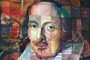 Portrait of Shakespeare © Copyright Deirdre O'Neill and licensed for reuse under this Creative Commons Licence.