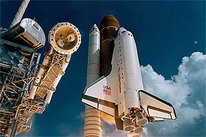 Photo: Space shuttle Atlantis