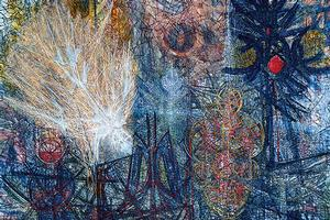 Jimmy Ernst Icarus painting