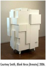 Courtney Smith, Blank Verse (Armoire), 2006