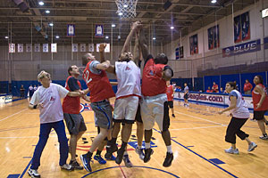 Photo: Second annual Faculty Staff Basketball Classic