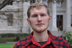 Erik Kojola on AU campus