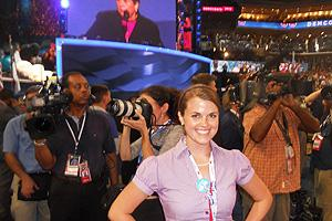 Andrea Walton at the Democratic National Convention