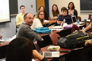 Todd Eisenstadt's Comparative Environmental Politics class