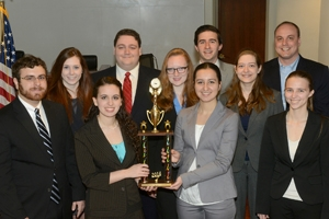 AU Mock Trial team