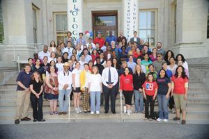 staff appreciation staff alumni photo