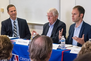 President Trump's relationship with Congress during his first year was the focus of a recent panel discussion hosted by SPA's Center for Congressional and Presidential Studies.