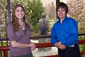 Jennifer Jones, CAS/BA '12, and Stephen Bronskill, CAS-SPA/BA '13, are the 9th and 10th Udall Scholar recipients from AU in the last five years.