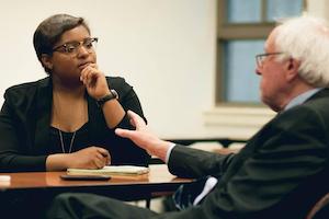 Jordan-Marie Smith interviews Senator Bernie Sanders
