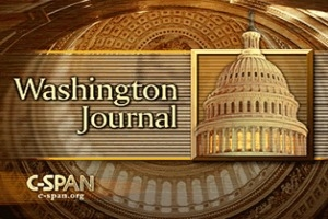 C-SPAN Washington Journal Banner