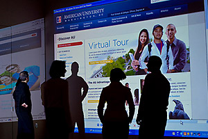 American University launches new Web 2.0 american.edu site.
