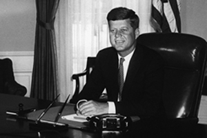 Abbie Rowe. White House Photographs. John F. Kennedy Presidential Library and Museum, Boston. Public Domain