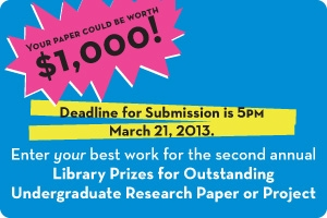 Deadline is March 21, 2013