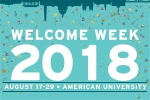 Welcome Week 2018 at American University.