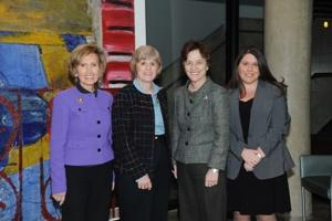 Connie Morella, Cindy Simon Rosenthal, Elizabeth Holtzman, Jennifer Lawless