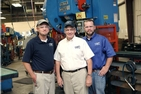 The Hurst family at Phoenix Specialty. From left to right: Russel Hurst, Robert Hurst, Jr, and Daniel Hurst.