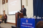 Education Secretary John King was one of several high-profile speakers at a recent AU-hosted convening.