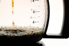 coffee drips into a carafe